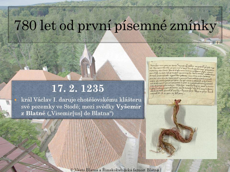 780 let od první písemné zmínky