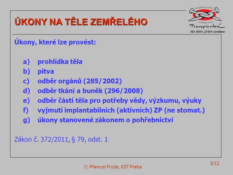 © Přemysl Frýda, KST Praha