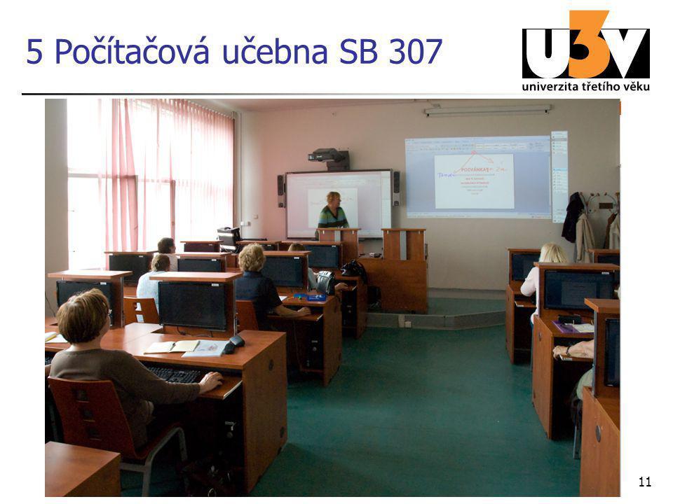5 Počítačová učebna SB 307