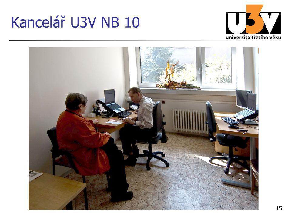 Kancelář U3V NB 10