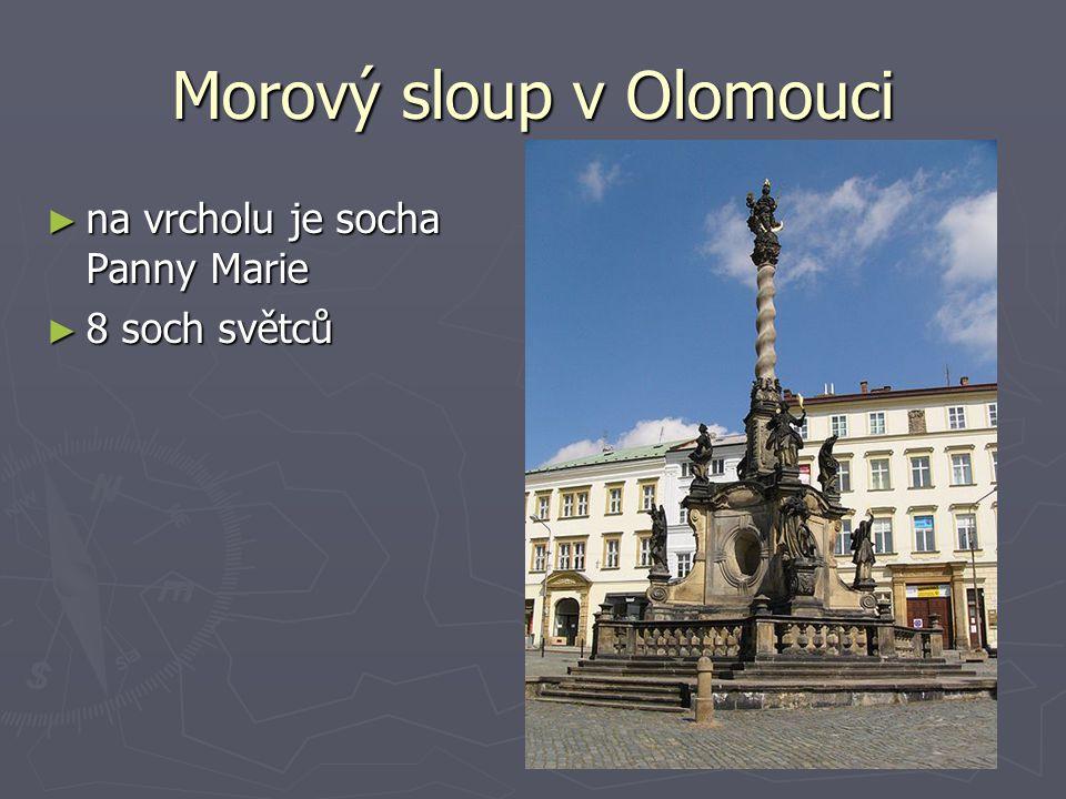Morový sloup v Olomouci