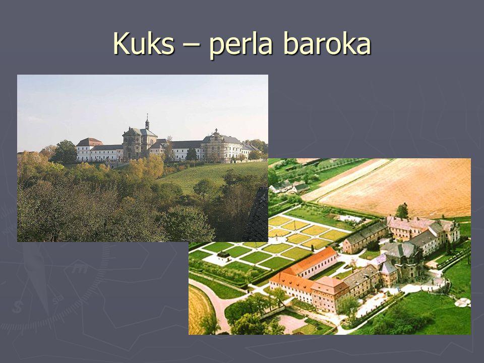 Kuks – perla baroka http://upload.wikimedia.org/wikipedia/commons/0/0b/Z%C3%A1mek_-_hospital_Kuks.jpg.