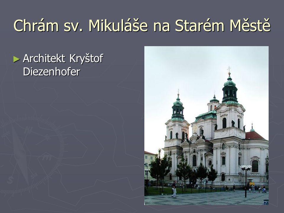 Chrám sv. Mikuláše na Starém Městě