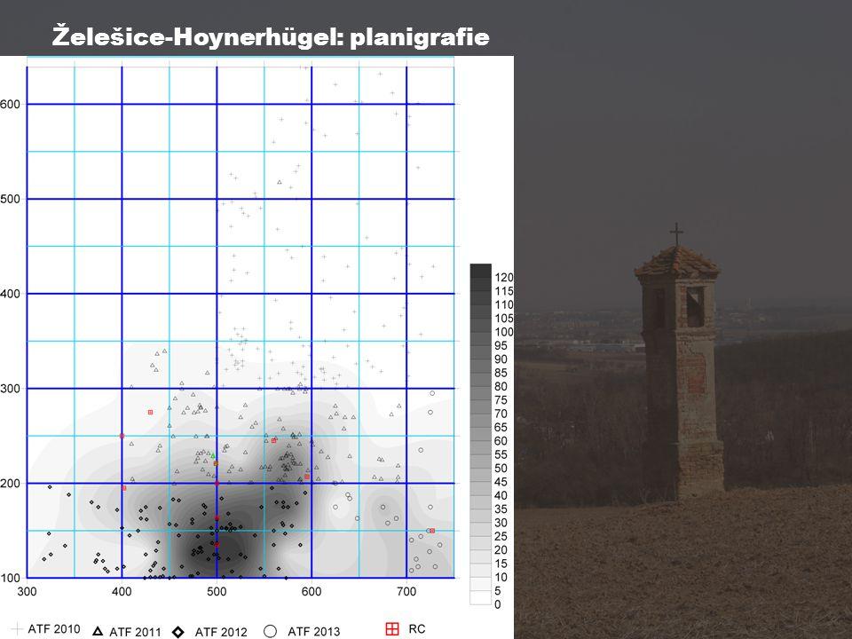 Želešice-Hoynerhügel: planigrafie