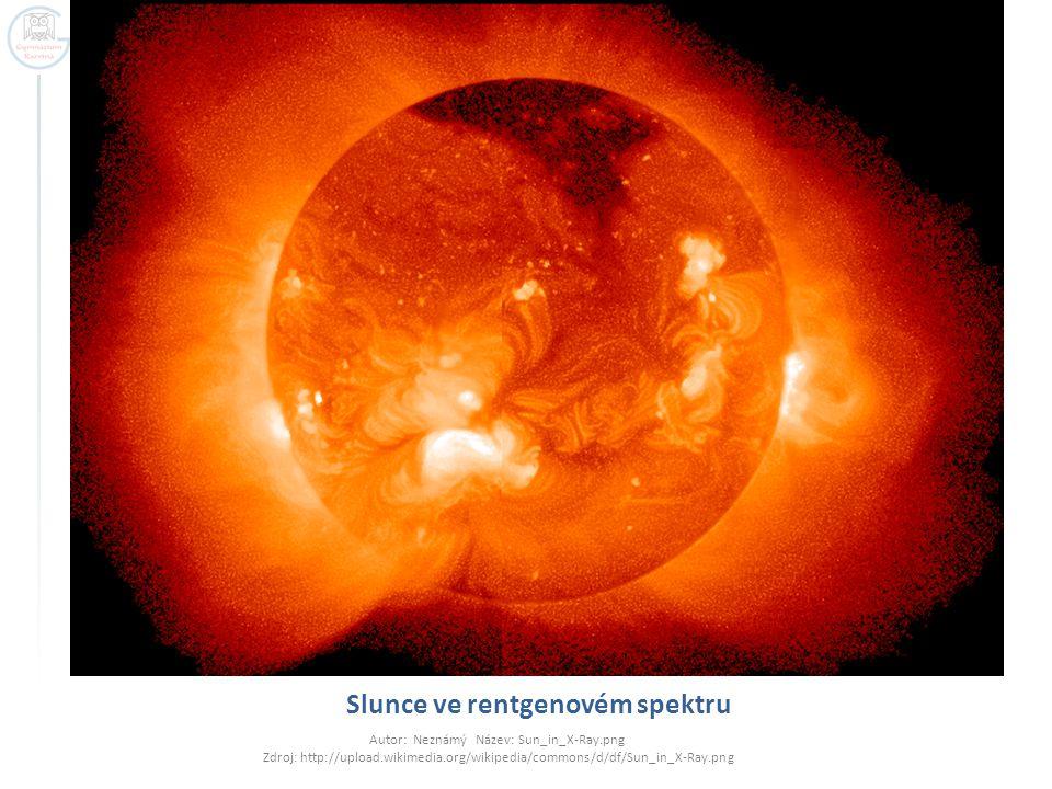Slunce ve rentgenovém spektru