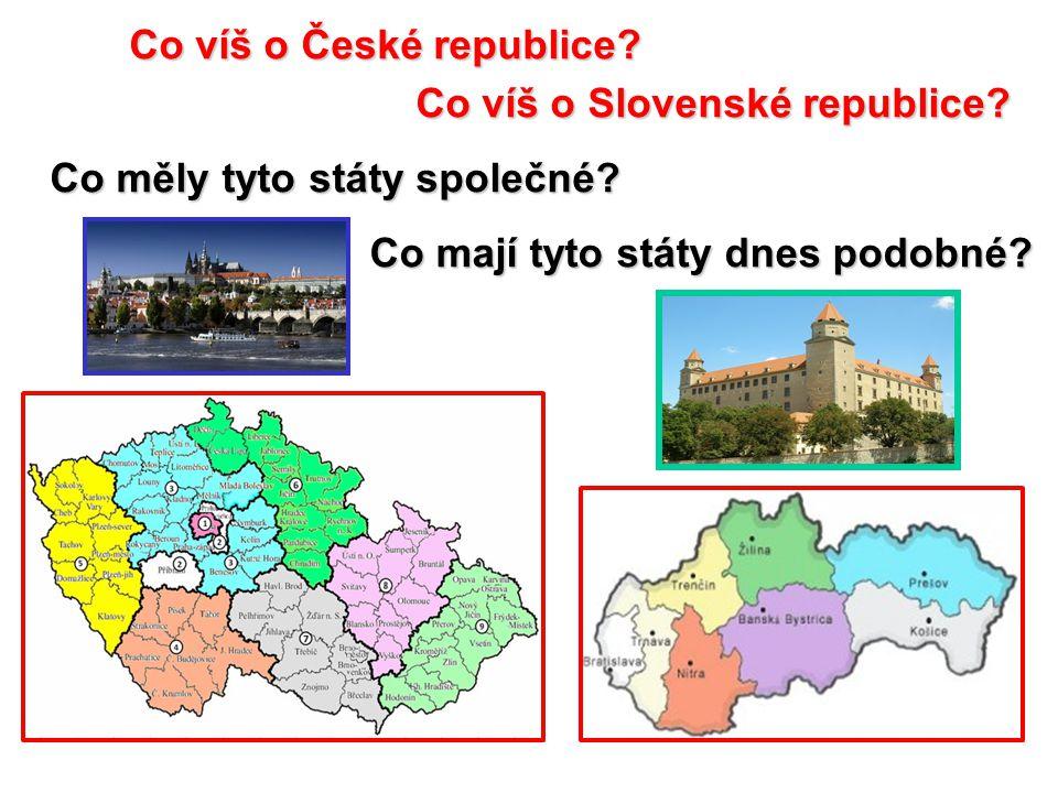 Co víš o České republice