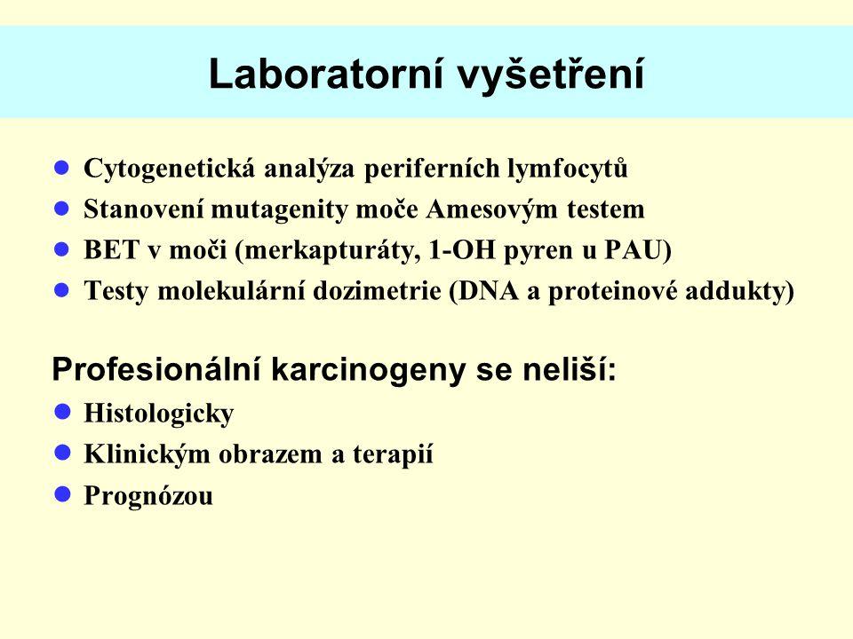 Laboratorní vyšetření