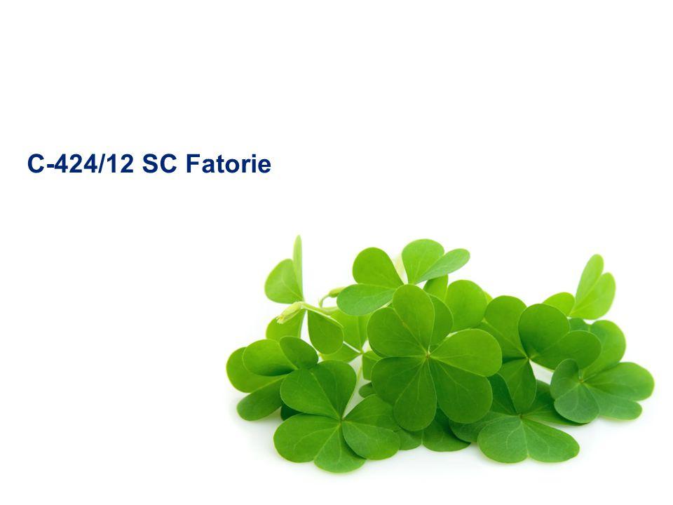 C-424/12 SC Fatorie