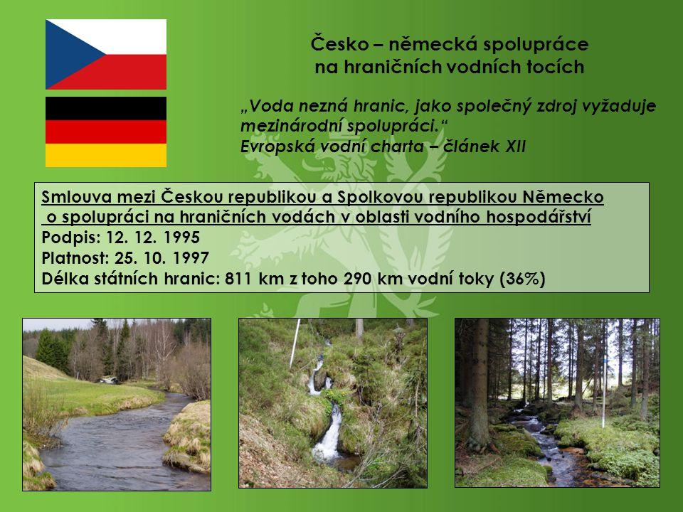 Česko – německá spolupráce na hraničních vodních tocích