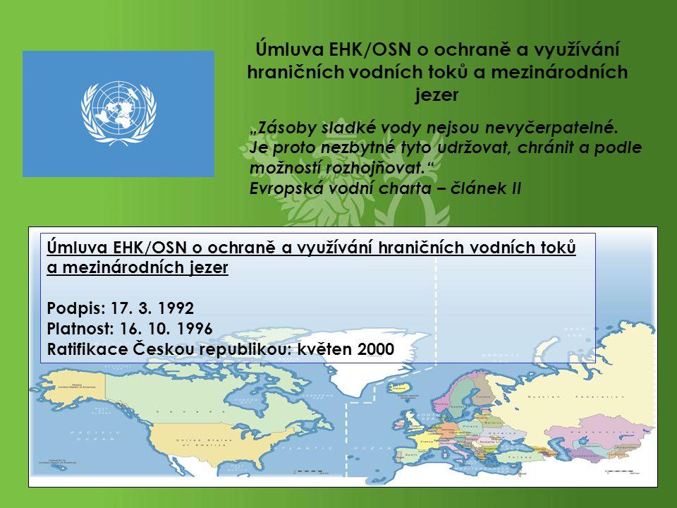 Úmluva EHK/OSN o ochraně a využívání hraničních vodních toků a mezinárodních jezer