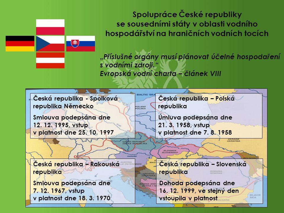 Spolupráce České republiky se sousedními státy v oblasti vodního hospodářství na hraničních vodních tocích