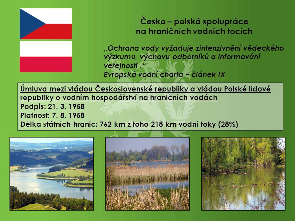 Česko – polská spolupráce na hraničních vodních tocích