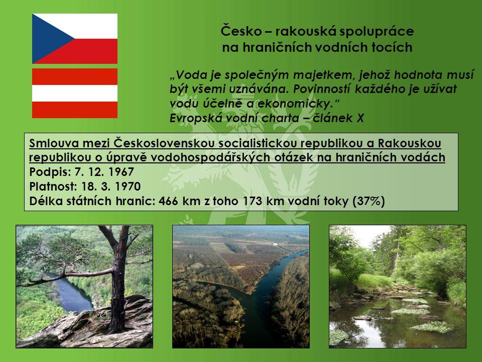Česko – rakouská spolupráce na hraničních vodních tocích