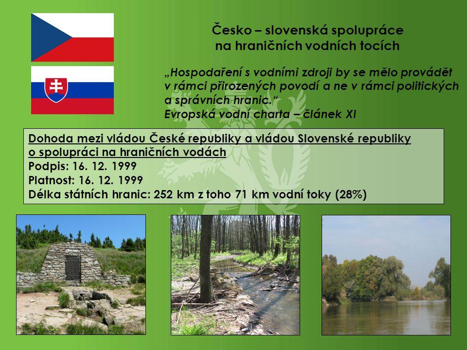 Česko – slovenská spolupráce na hraničních vodních tocích