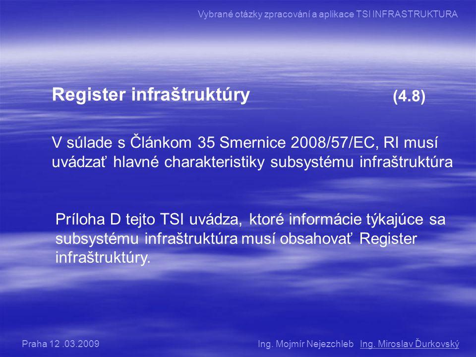 Register infraštruktúry