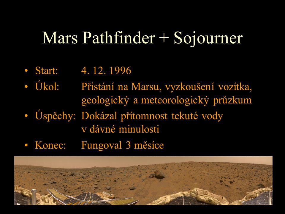 Mars Pathfinder + Sojourner