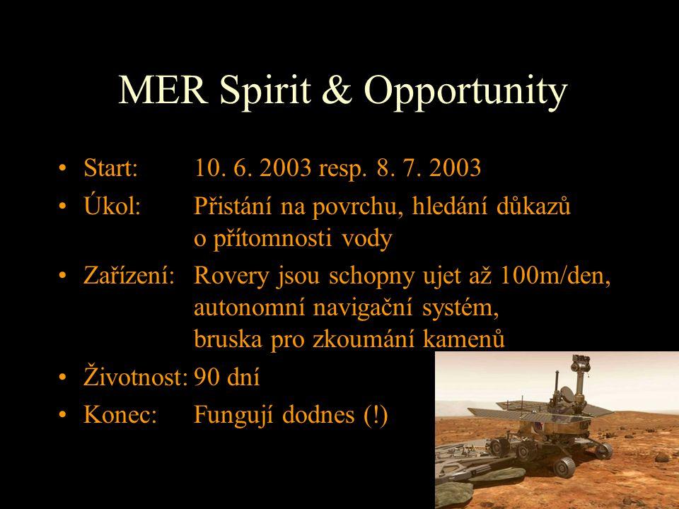 MER Spirit & Opportunity