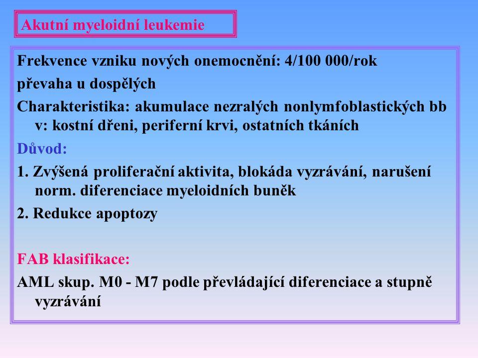 Akutní myeloidní leukemie