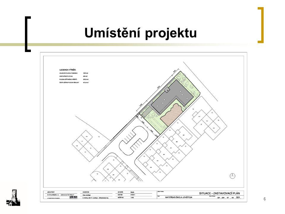Umístění projektu