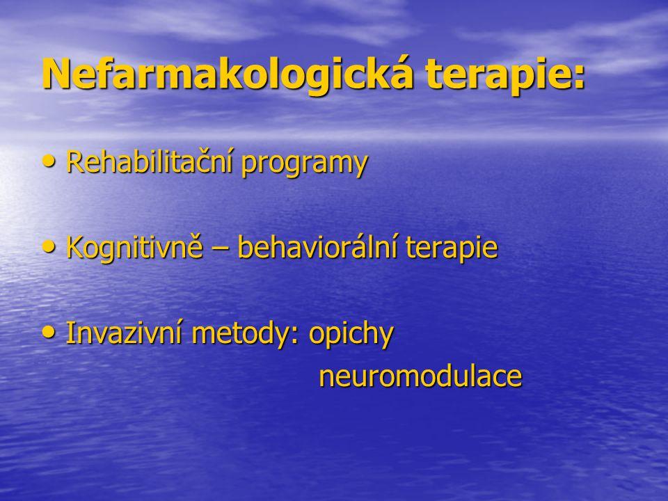 Nefarmakologická terapie: