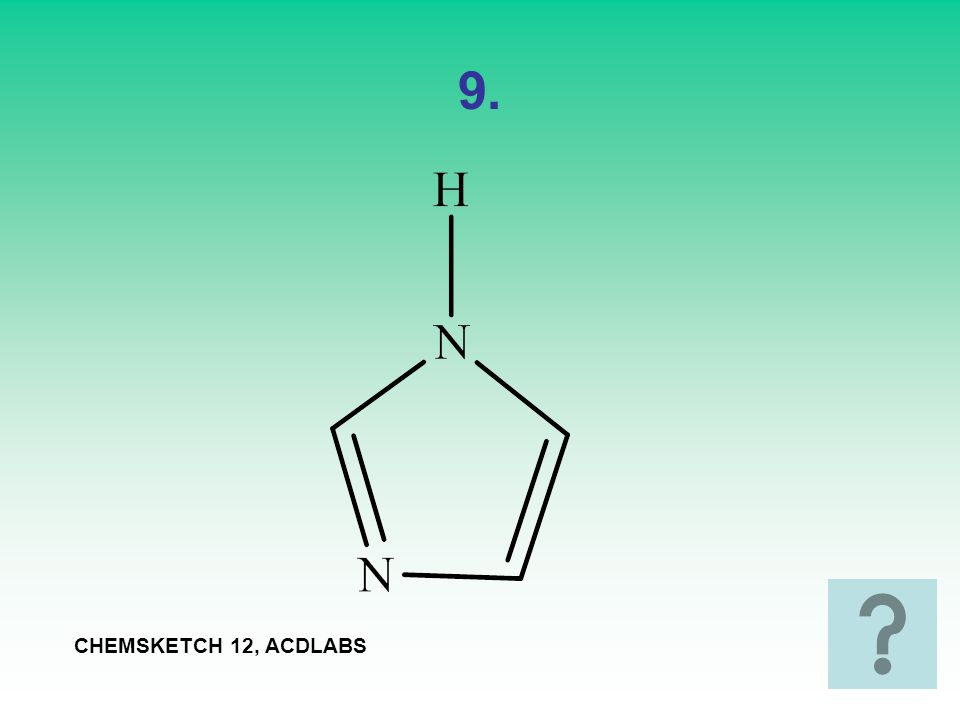 9. CHEMSKETCH 12, ACDLABS