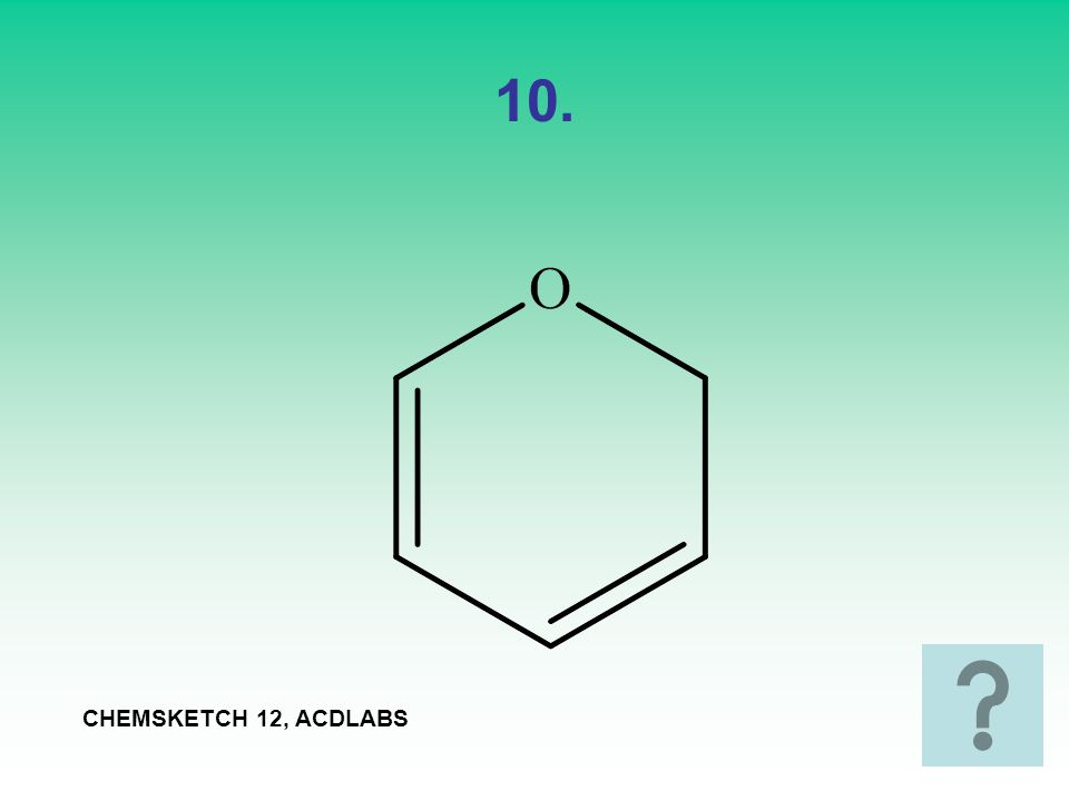 10. CHEMSKETCH 12, ACDLABS