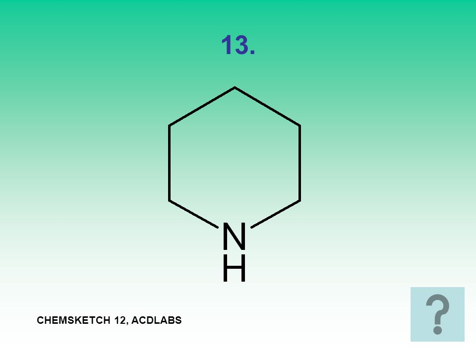 13. CHEMSKETCH 12, ACDLABS