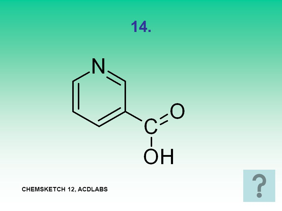 14. CHEMSKETCH 12, ACDLABS