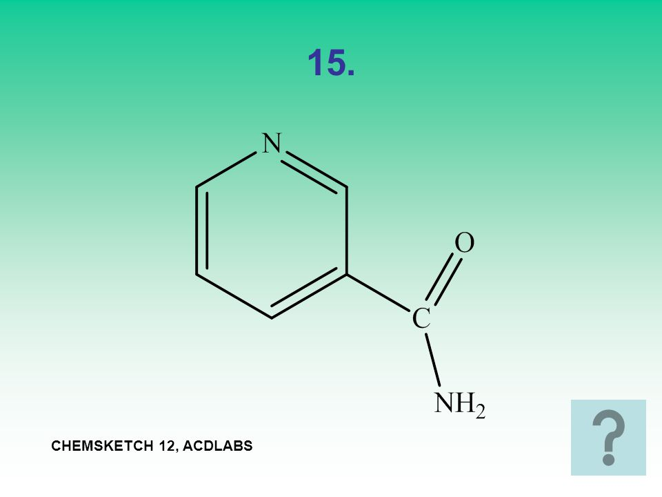 15. CHEMSKETCH 12, ACDLABS
