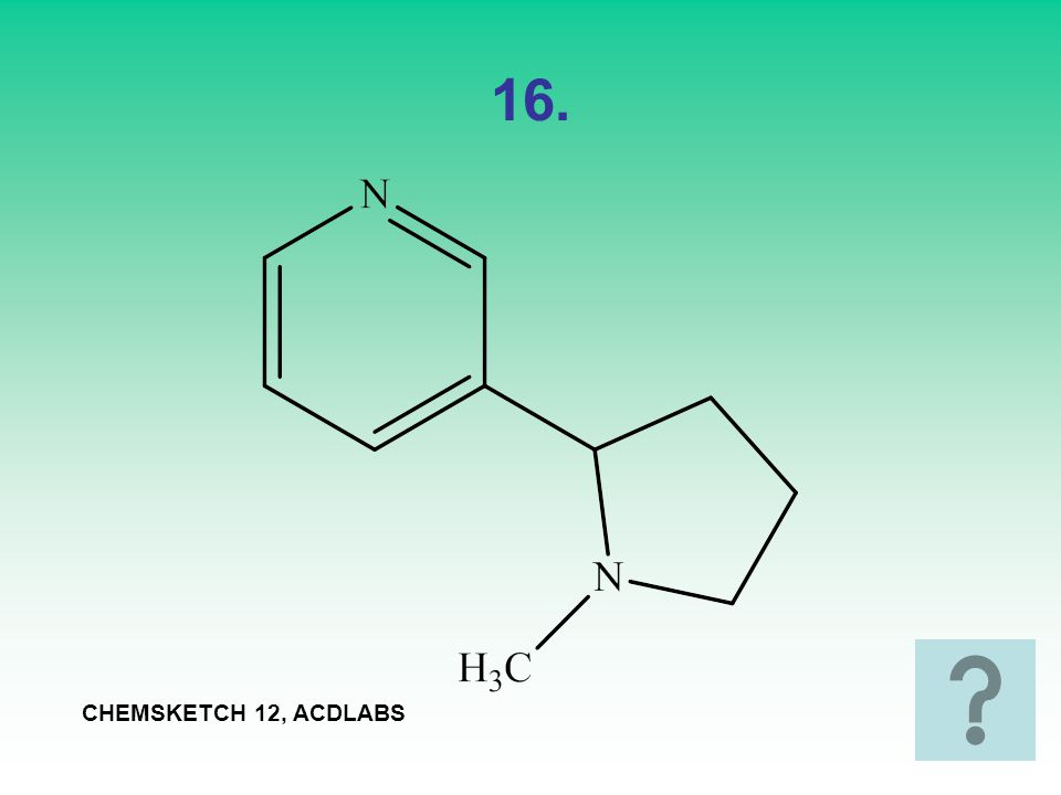 16. CHEMSKETCH 12, ACDLABS