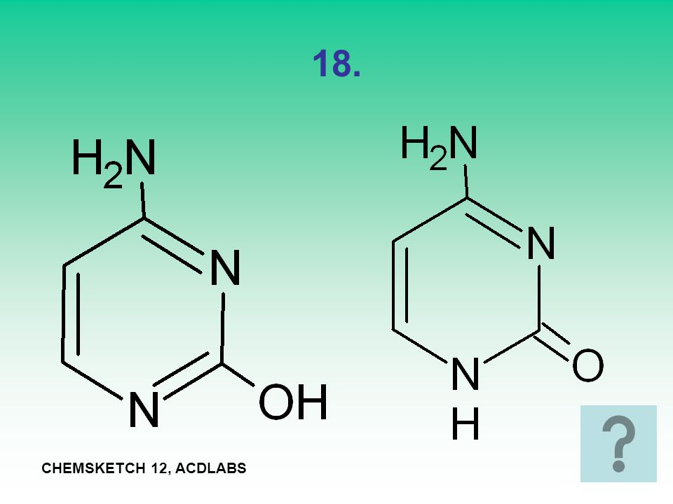 18. CHEMSKETCH 12, ACDLABS
