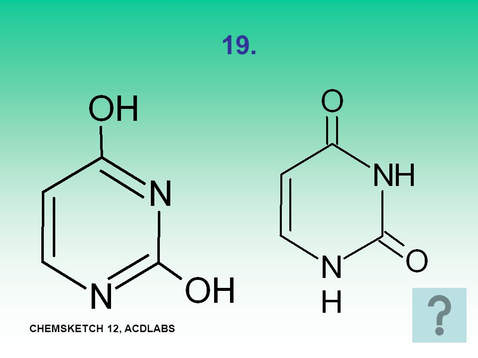 19. CHEMSKETCH 12, ACDLABS