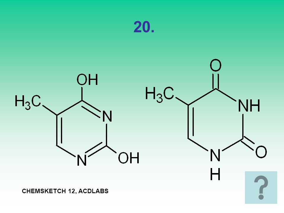 20. CHEMSKETCH 12, ACDLABS