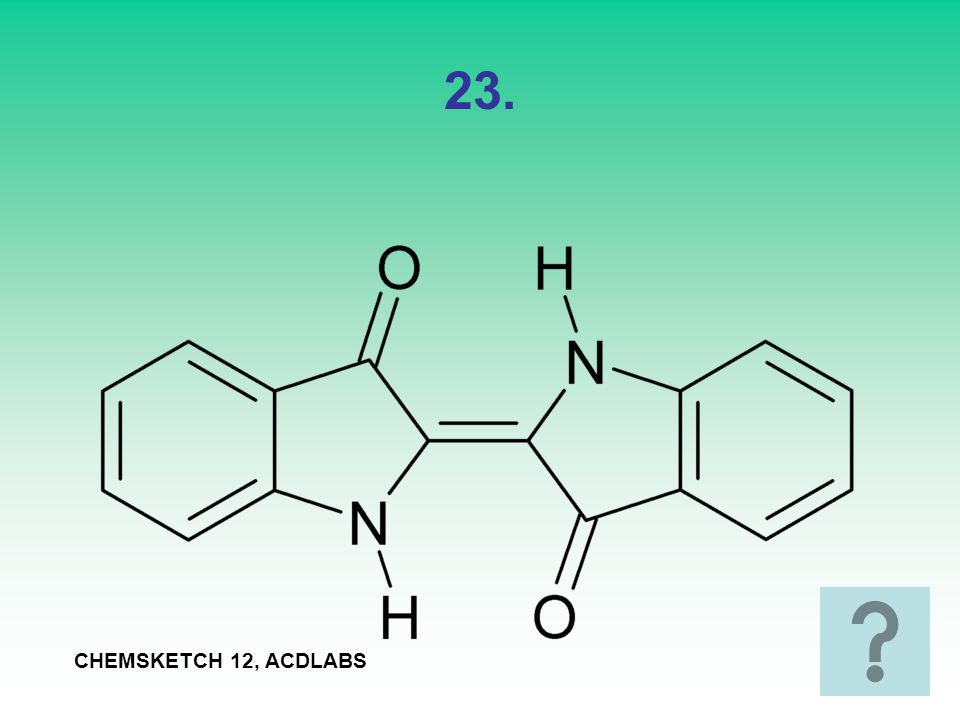 23. CHEMSKETCH 12, ACDLABS