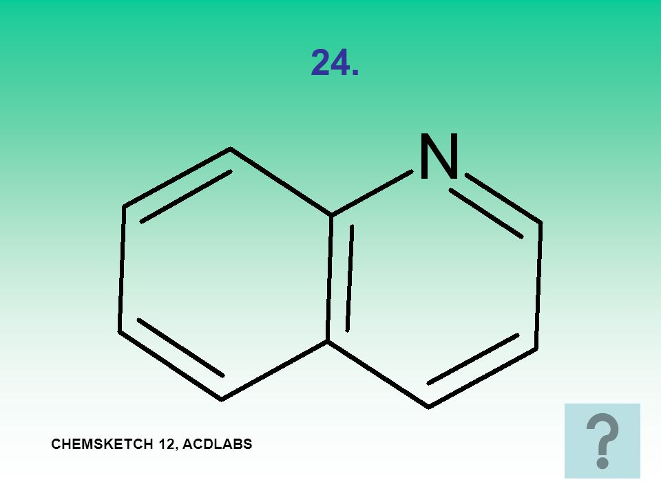 24. CHEMSKETCH 12, ACDLABS