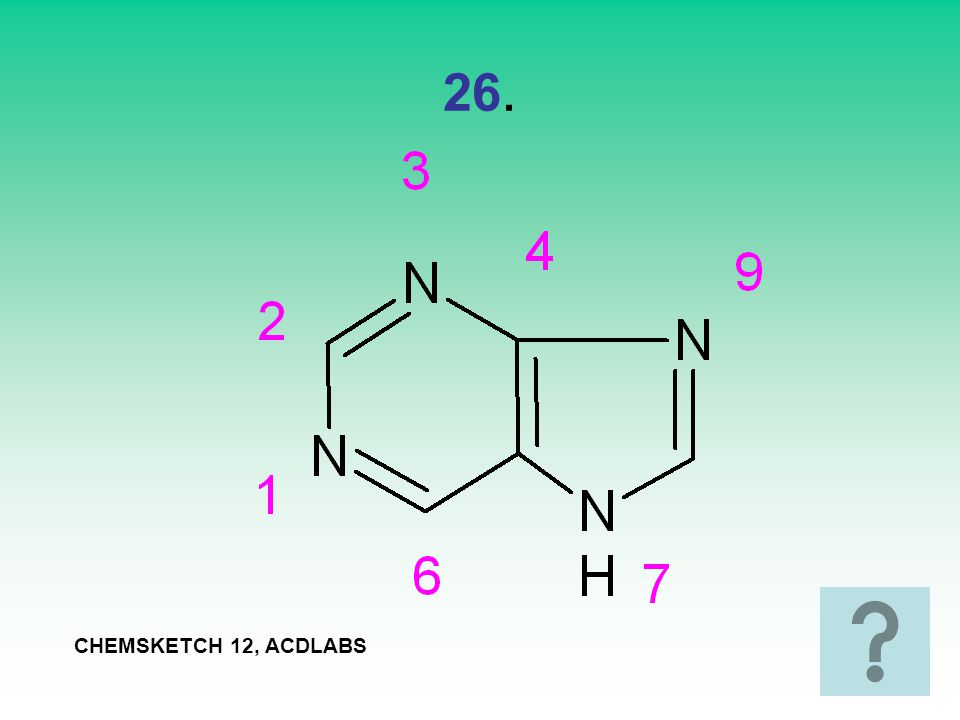 26. CHEMSKETCH 12, ACDLABS