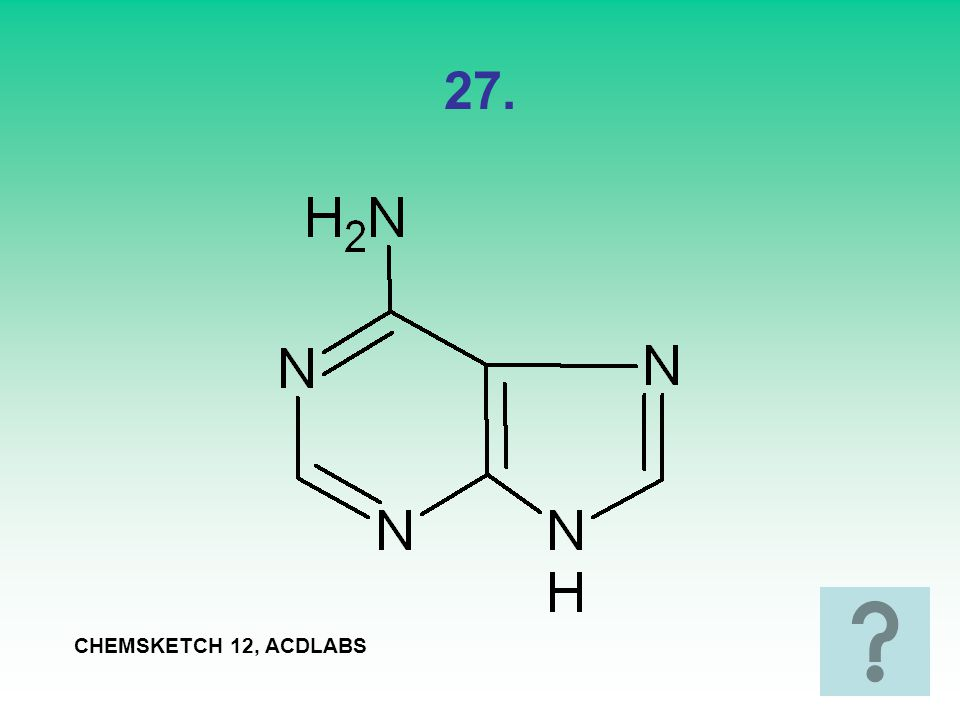 27. CHEMSKETCH 12, ACDLABS