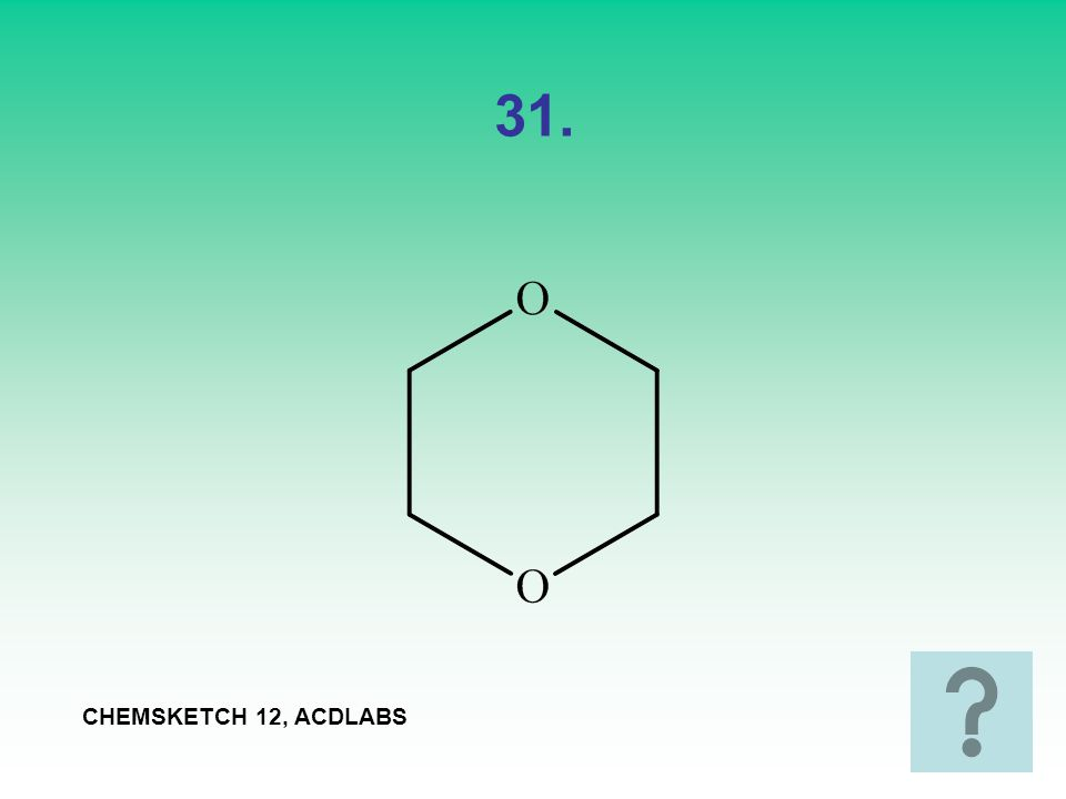 31. CHEMSKETCH 12, ACDLABS