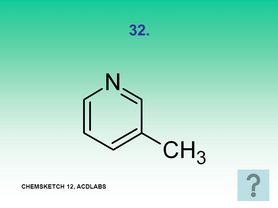 32. CHEMSKETCH 12, ACDLABS