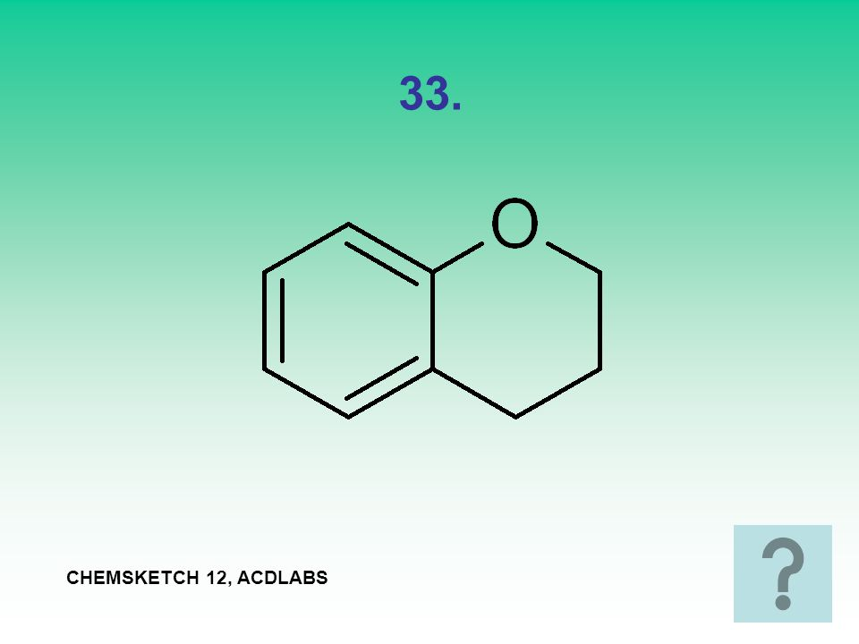 33. CHEMSKETCH 12, ACDLABS