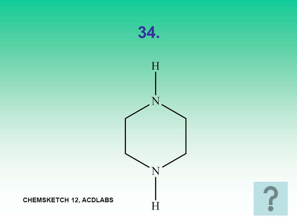 34. CHEMSKETCH 12, ACDLABS