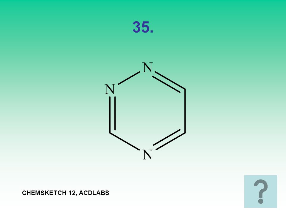 35. CHEMSKETCH 12, ACDLABS