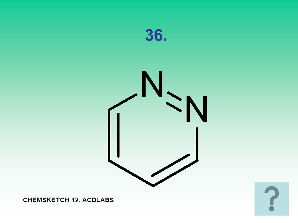 36. CHEMSKETCH 12, ACDLABS
