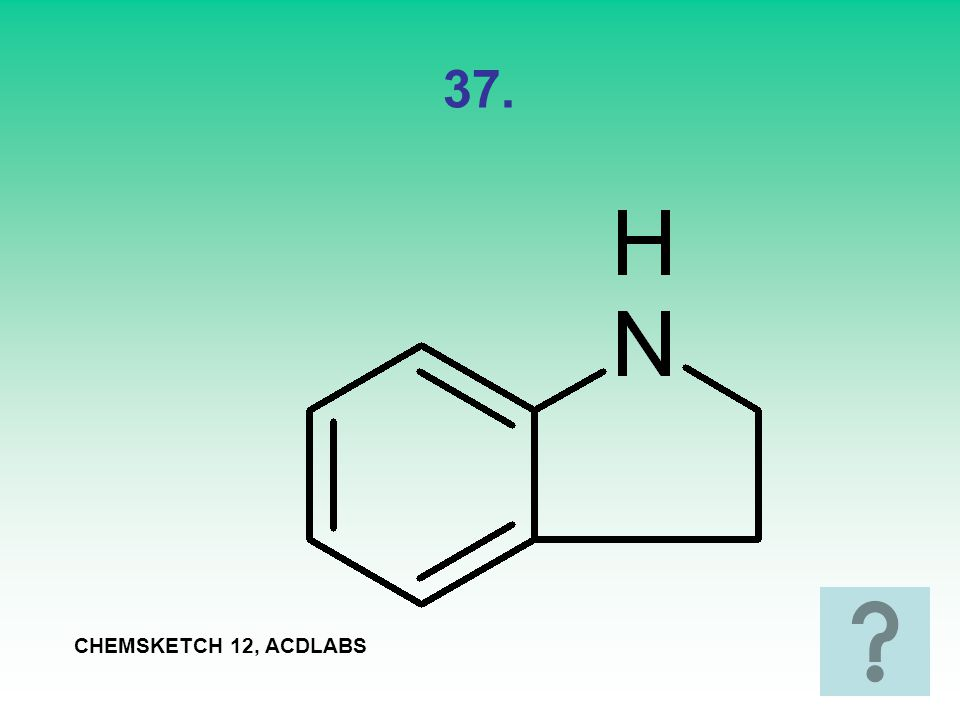 37. CHEMSKETCH 12, ACDLABS