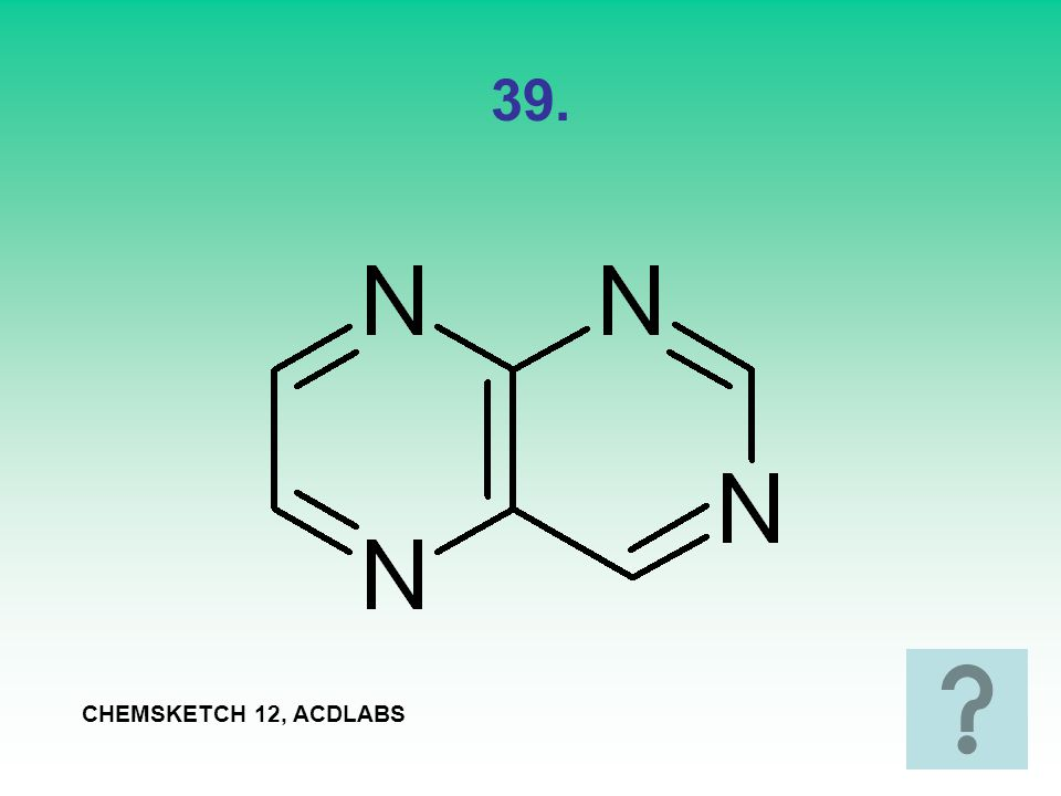 39. CHEMSKETCH 12, ACDLABS