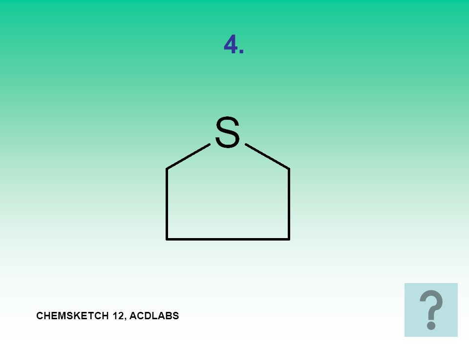 4. CHEMSKETCH 12, ACDLABS