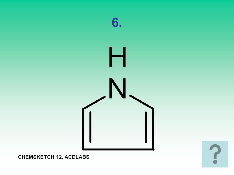 6. CHEMSKETCH 12, ACDLABS