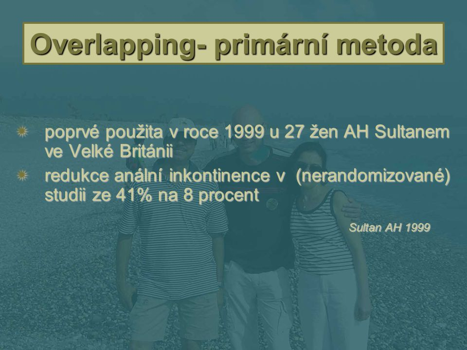 Overlapping- primární metoda