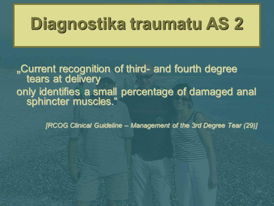 Diagnostika traumatu AS 2