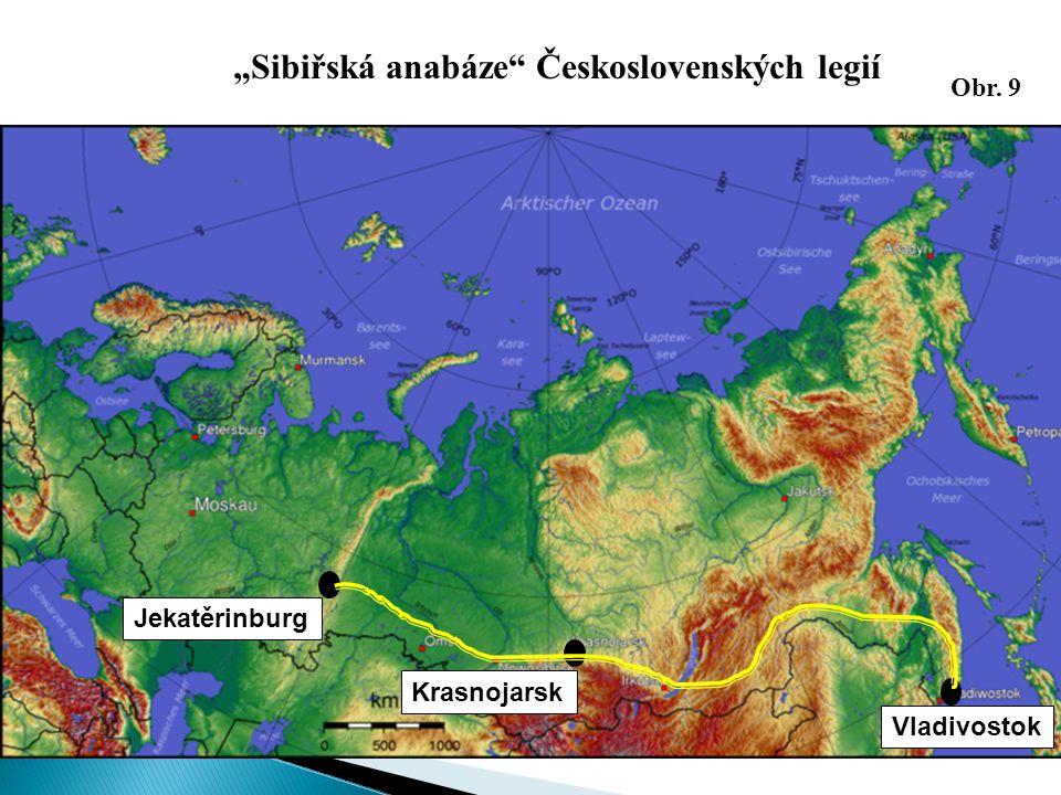 """""""Sibiřská anabáze Československých legií"""